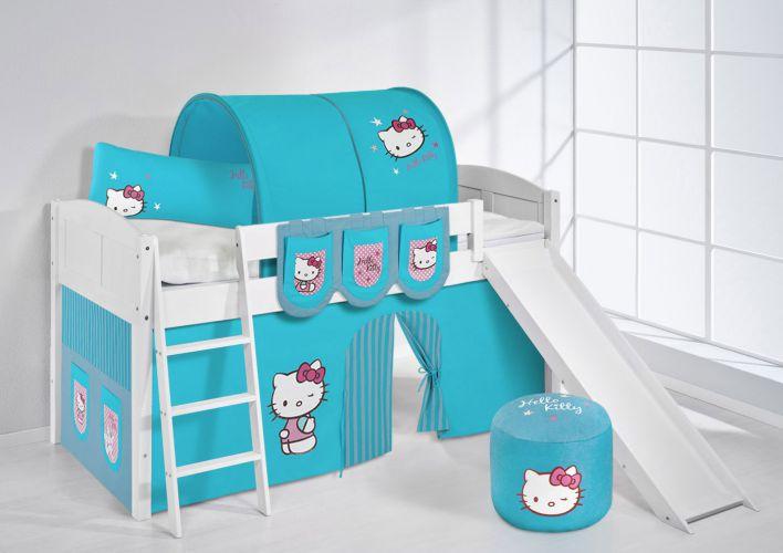 Nieuw! Halfhoogslapers en Stapelbedden van Hello Kitty! In 3 verschillende kleuren