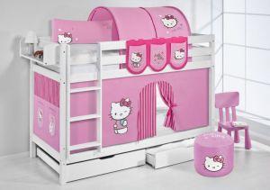 kinderstapelbed-hello-kitty-roze