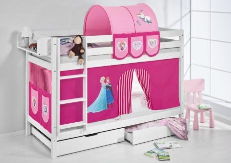 Kinderbedden - Frozen vorhang hochbett ...